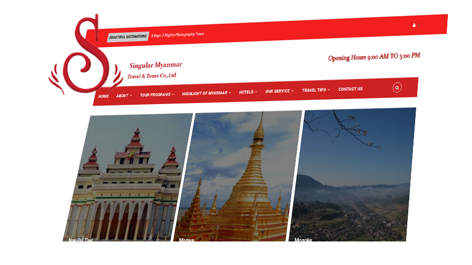 Singular Myanmar | Travel & Tours Co.,Ltd.